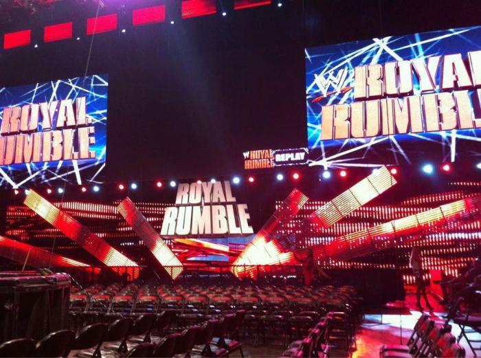 Royal Rumble 2013 set