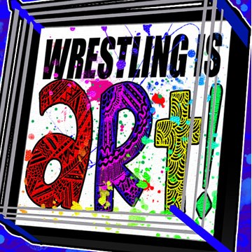 wrestling is art