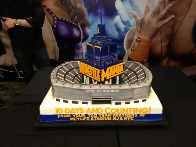 Makes Cakes Tags Birthday Party Cake Wrestling Ring Wwe Undertaker