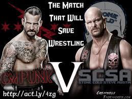 CM Punk vs Stone Cold