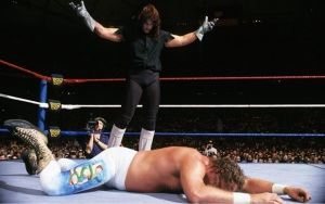undertaker vs Jake snake