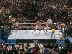 WWE-WWF_Wrestlemania-IV-1988_British-Bulldogs_Koko-BWare_vs_Bobby-TheBrain-Heenan_The-Islanders