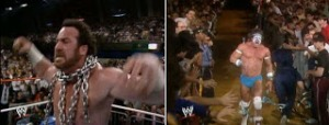 WWE-WWF_Wrestlemania-IV-1988_Hercules_vs_TheUltimateWarrior
