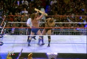 WWE_WWF_Wrestlemania-V_Bad-News-Brown_vs_Jim-Dugan_steelchair_vs_hacksaw