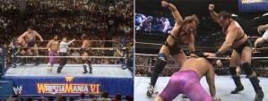 WWE_WWF_Wrestlemania-VI_the-Colossal-Connection_vs_Demolition_tricks