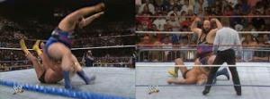WWE_WWF_Wrestlemania-VII_Earthquake_wins_Greg-TheHammer-Valentine