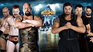 Big Show Ryback y Orton vs The Shield