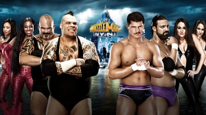 Brodus Clay y tensai wrestlemania