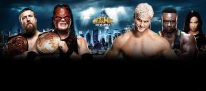 Team Hell NO vs Dolph Ziggler y Big E langston