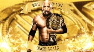The Rock Dwayne Johnson WWE Champion Royal Rumble 2012