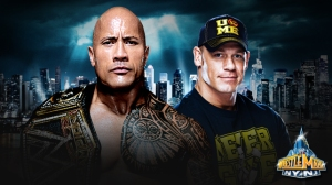 the rock  (la roca) vs John Cena 4