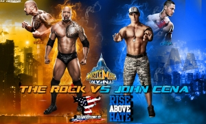 the rock vs john cena 3