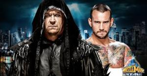 The Undertaker vs CM Punk