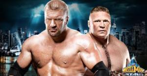 triple H vs Brock Lesnar 2