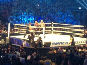 undertaker vs the shield