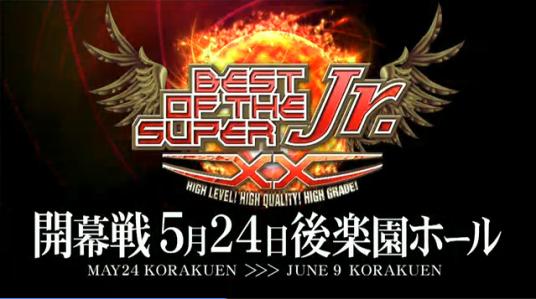 njpw best of super juniors 20