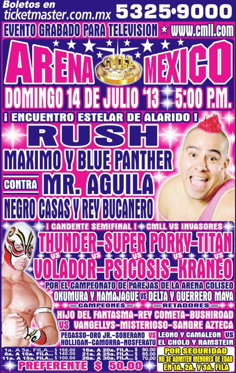 arena mexico 14 de julio