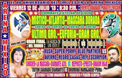 cmll 12 de junio arena mexico