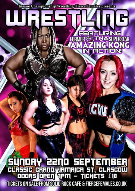 icw fierce females