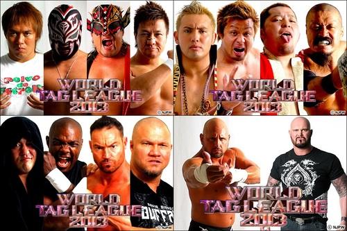world tag league 2013 grupo b