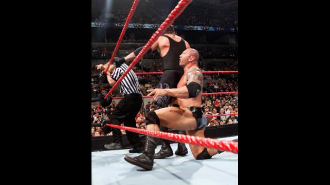 Batista foul