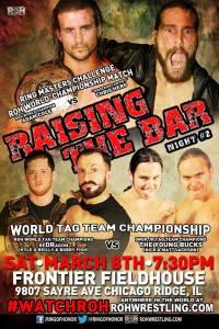 ROH RAISING THE BAR nIGHT TWO