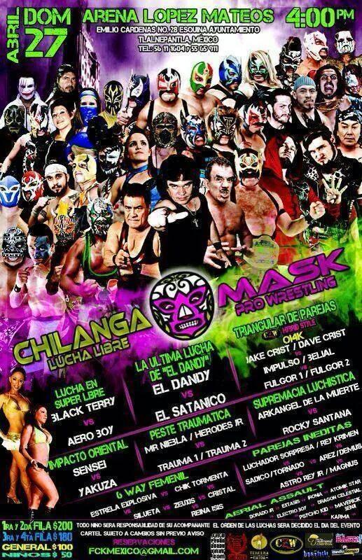 chilanga mask 27 abril