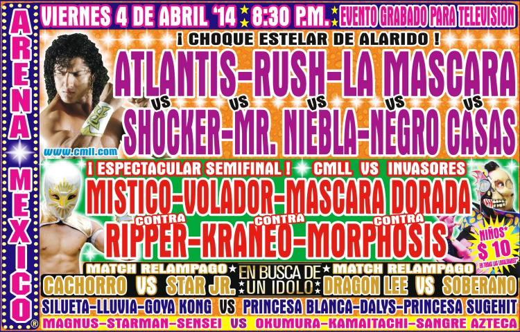 cmll 4 abril arena mexico