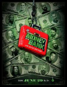 money in the bank poster 2014