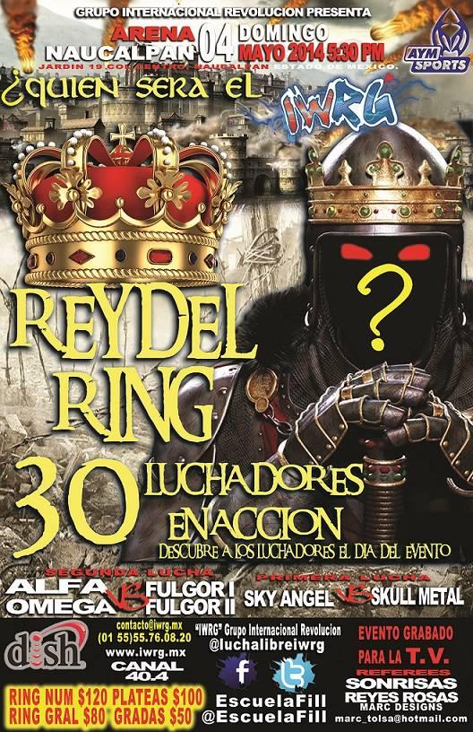 IWRG REY DEL RING