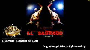 Entrevista a El Sagrado, luchador del CMLL