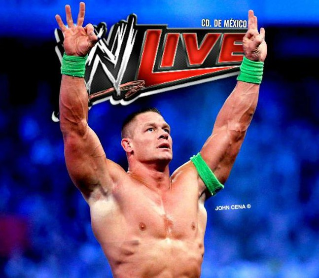 John Cena WWE Live México