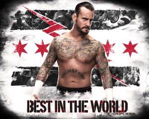 Cm Punk in angry