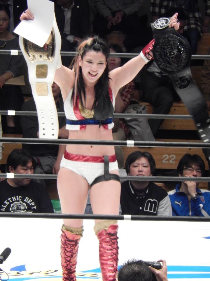 Shida con ambos títulos tras ganar la lucha