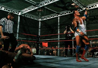 Armageddon 2000 Kurt Angle vs Stone Cold vs Rikishi vs Undertaker vs Triple H vs Undertaker vs The Rock