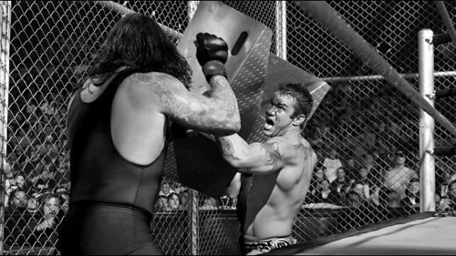 Armageddon 2005 Undertaker vs Randy Orton Hell In A Cell