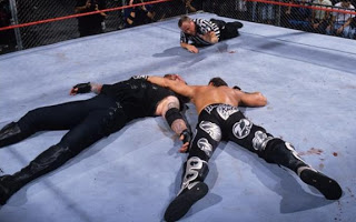 Bad Blood 1997 Undertaker vs Shawn Michaels Hell In A Cell Kane's Debut