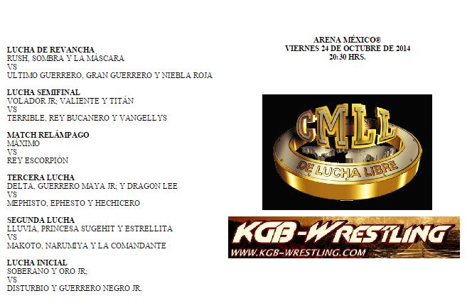 CMLL 24 de Octubre