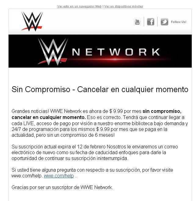 comunicación Network mensual