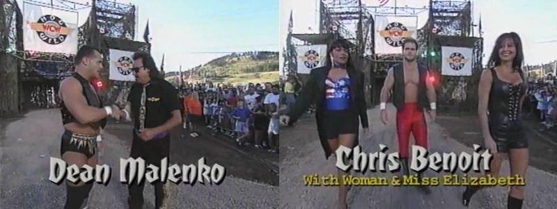 Dean Malenko vs Chris Benoit