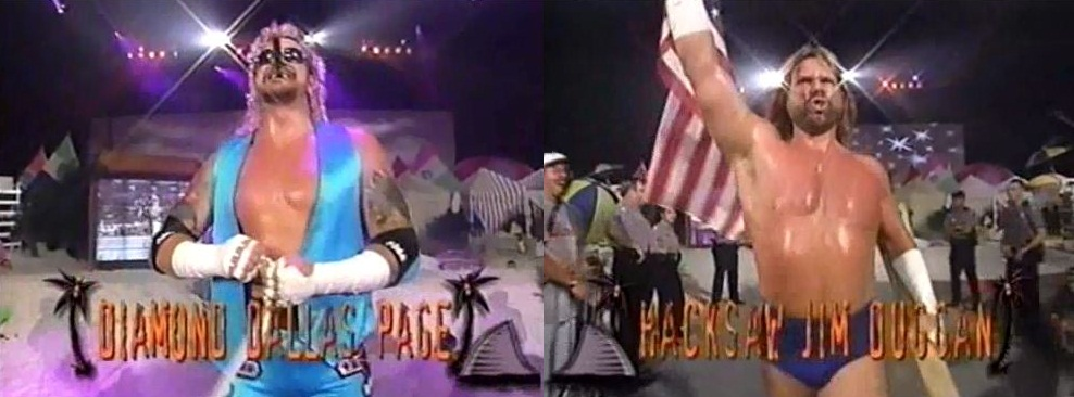 Diamond Dallas Page vs Jim Duggan