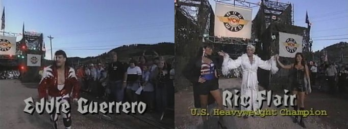Eddie Guerrero vs Ric Flair
