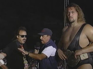 Gene Okerlund, The Giant, Jimmy Hart WCW Hog Wild 1996