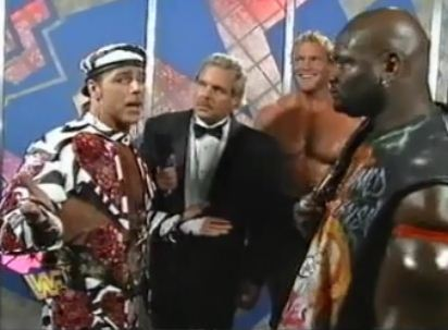 HBK, Johnson y Sid