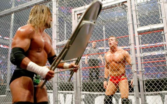 Hell In A Cell 2009 Degeneration X vs The Legacy