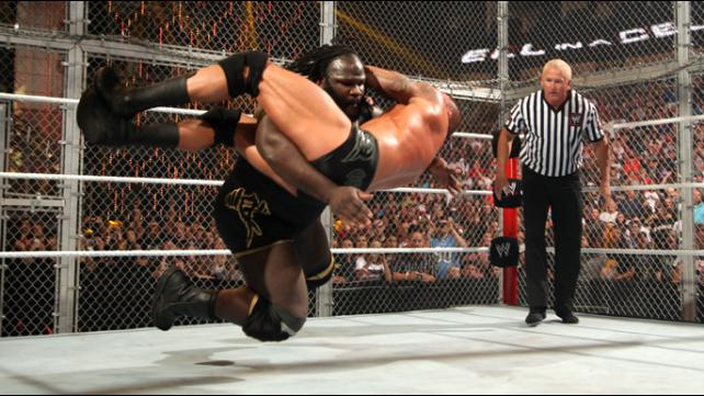 Hell In A Cell 2011 Mark Henry vs Randy Orton