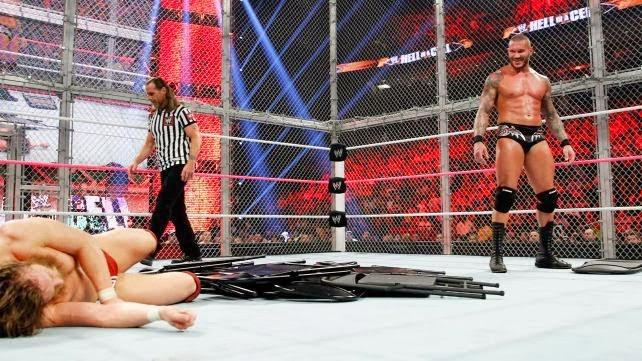 Hell In A Cell 2013 Randy Orton vs Daniel Bryan