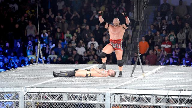 Hell In A Cell Ryback vs CM Punk 2012