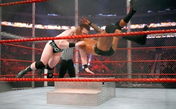 Hell In A Cell Sheamus vs Randy Orton 2010