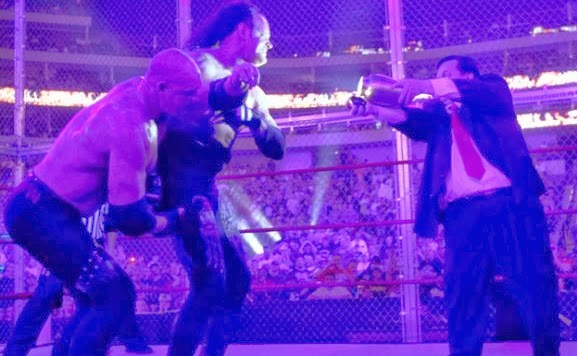Hell In A Cell Undertaker vs Kane 2010